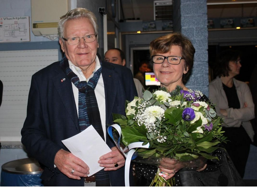 Op bezoek bij ons oudste lid Henk vd Weijden