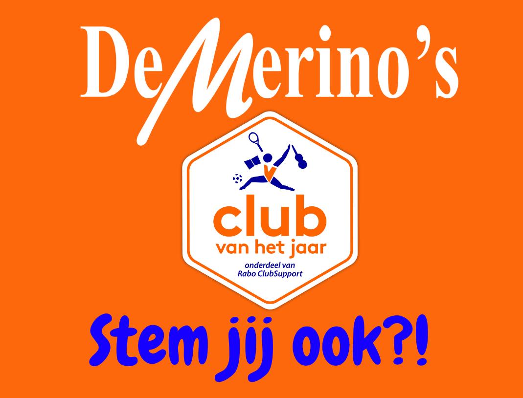 De Merino's genomineerd voor &quote;Club van het jaar&quote;!