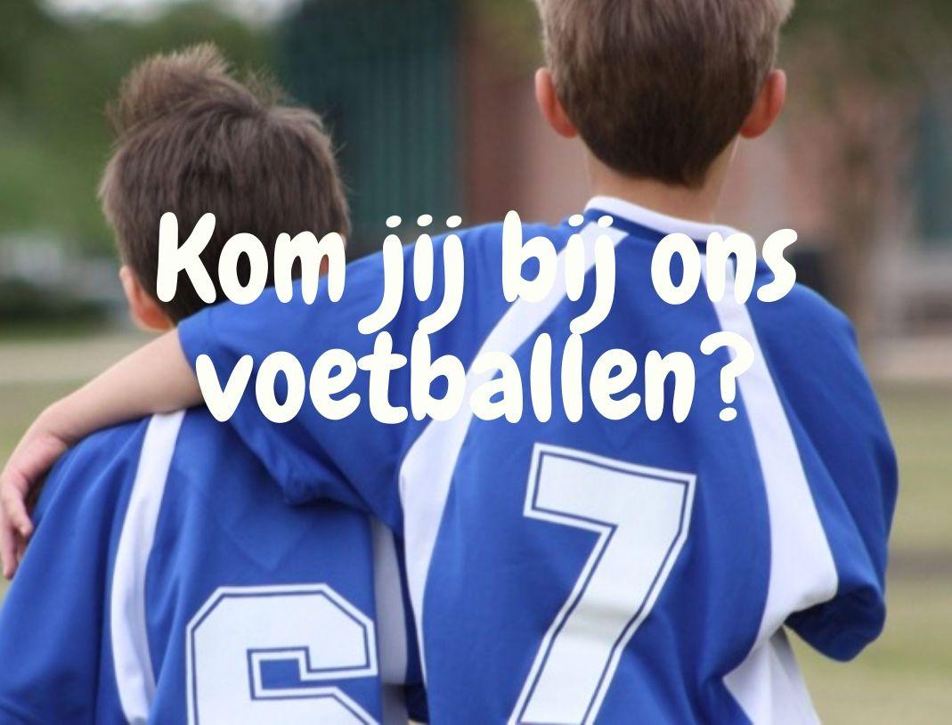 Kom jij bij ons voetballen?