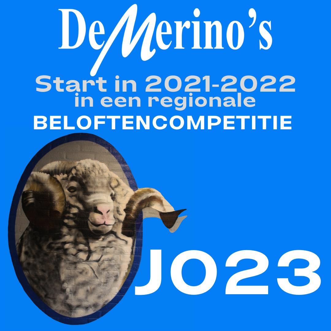 De Merino's start in een regionale Beloften-competitie!