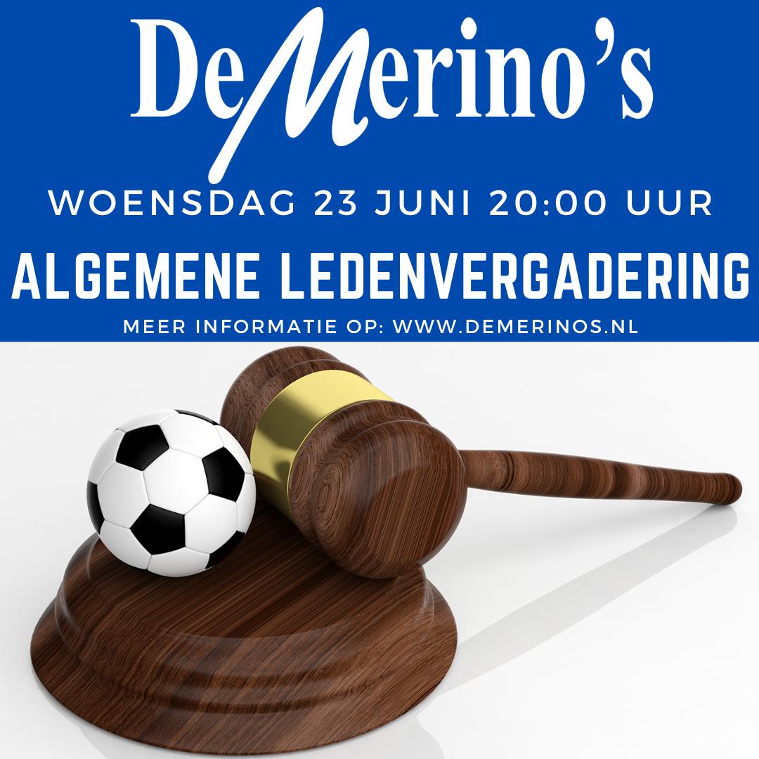 23 juni: Algemene Ledenvergadering