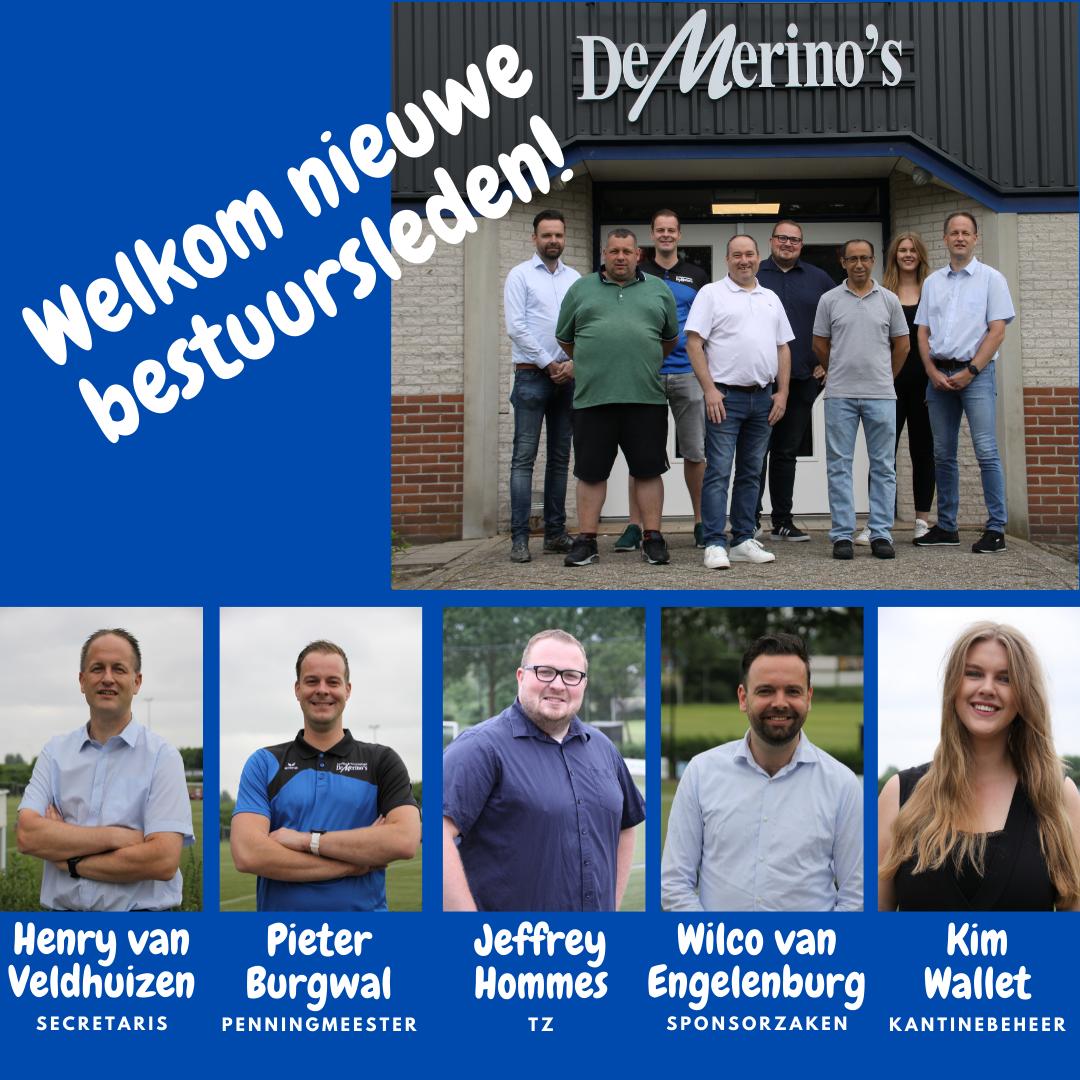 Merino's benoemt nieuwe bestuursleden!