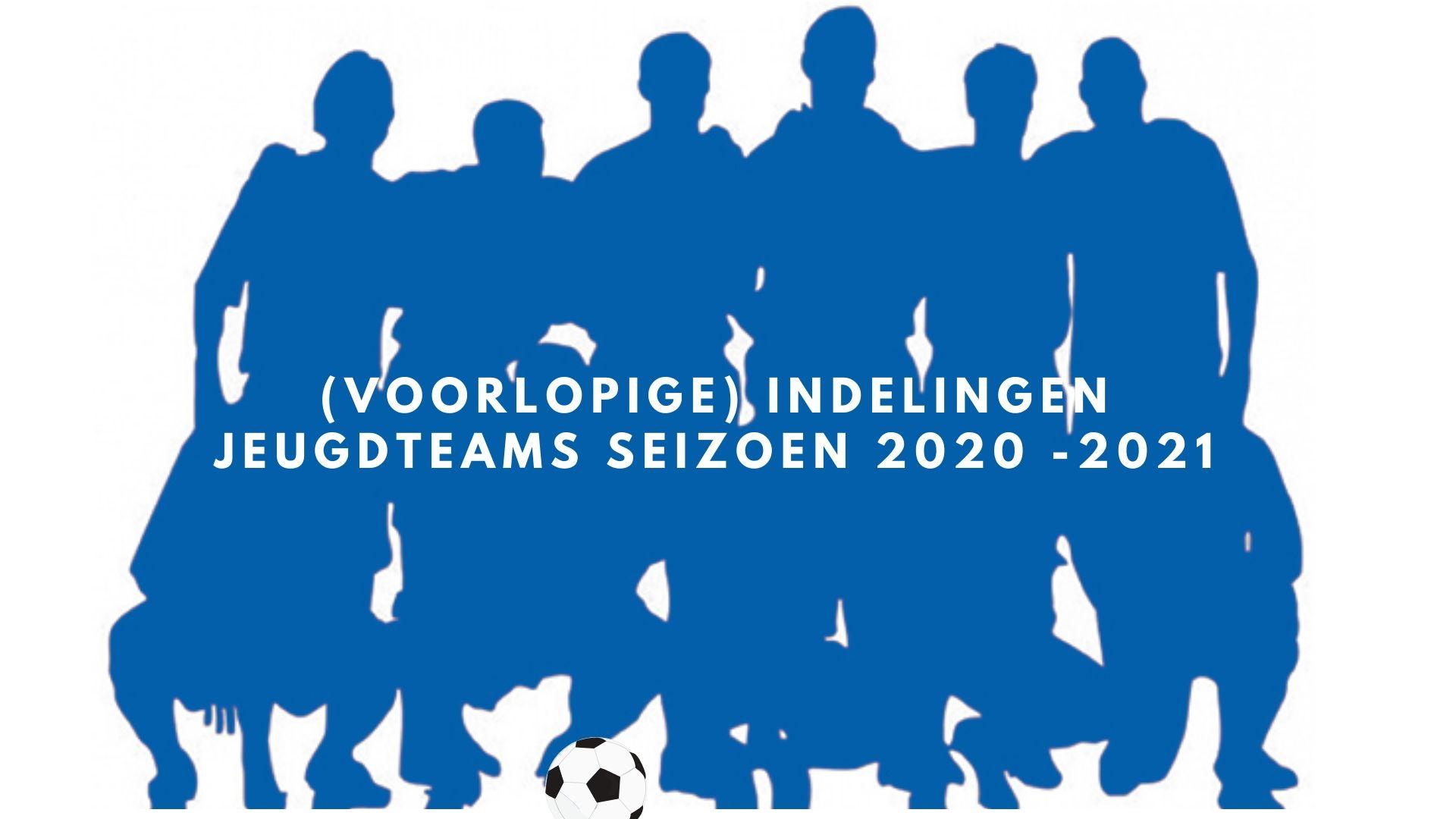 Update 10 juli: Voorlopige indelingen jeugdteams 2020-2021